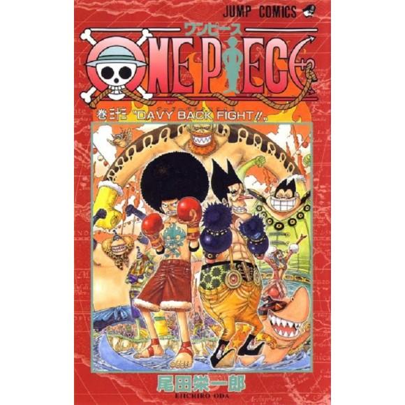 ONE PIECE vol. 33 - Edição Japonesa
