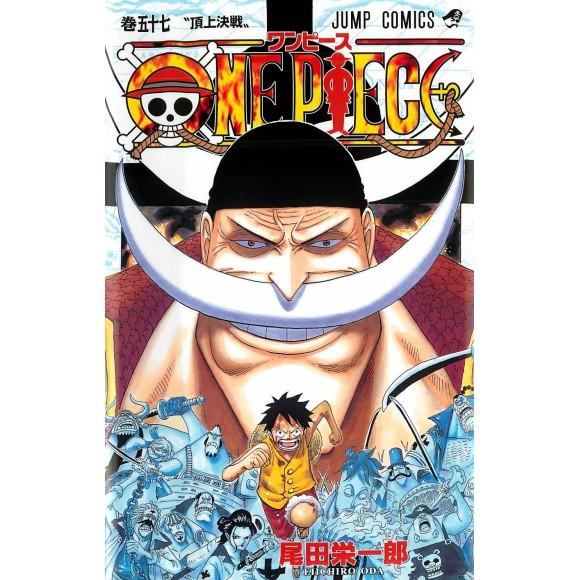 ONE PIECE vol. 57 - Edição Japonesa