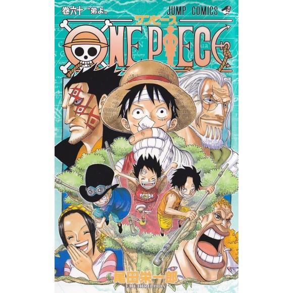 ONE PIECE vol. 60 - Edição Japonesa