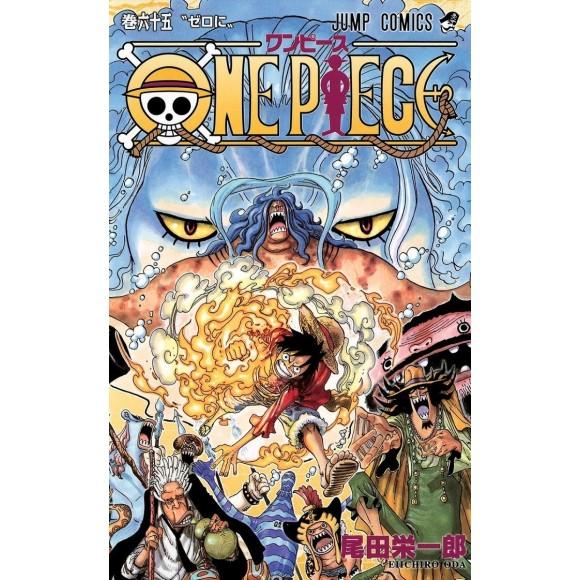 ONE PIECE vol. 65 - Edição Japonesa