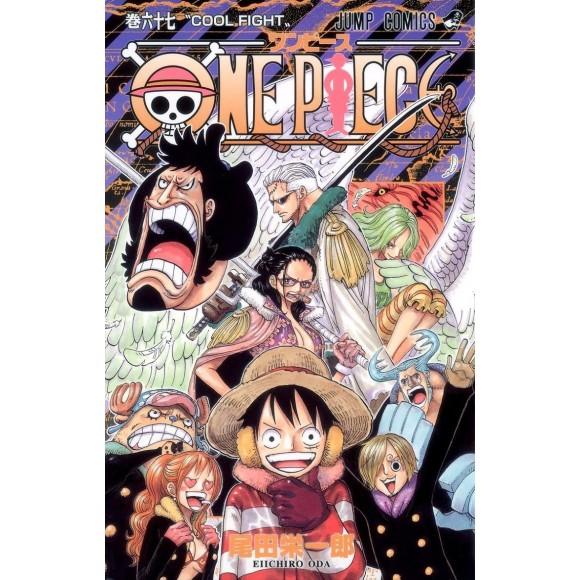 ONE PIECE vol. 67 - Edição Japonesa
