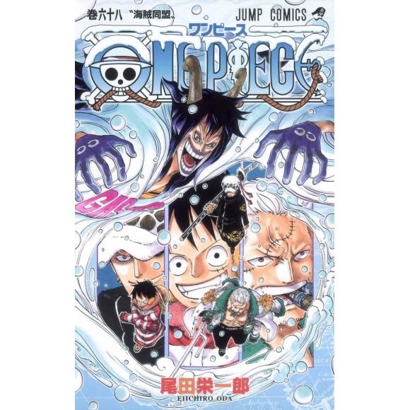ONE PIECE vol. 68 - Edição Japonesa