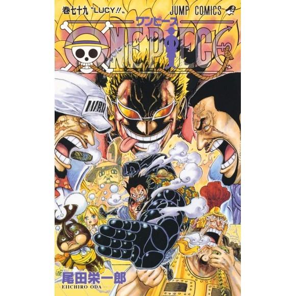 ONE PIECE vol. 79 - Edição Japonesa