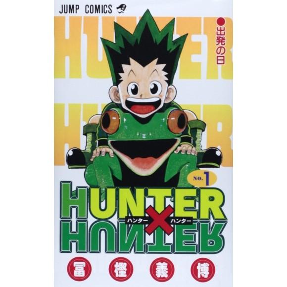HUNTER X HUNTER vol. 1 - Edição Japonesa